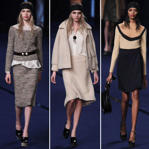 Review and Pictures of Sonia Rykiel Autumn Winter 2012 Paris Fashion Week Runway Show
