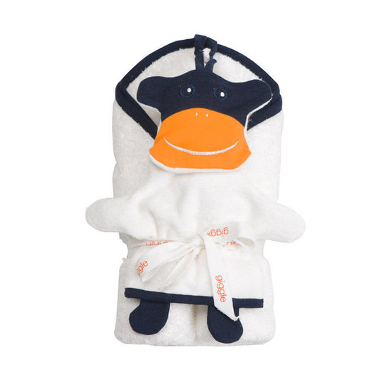 Giggle Better Basics Monkey Mitt and Hooded Towel Set ($50)