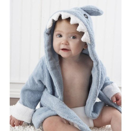 Baby Aspen Terry Shark Robe ($32)