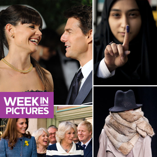 Tom and Katie Party After the Oscars, Royal Women Hit the Town, and Iranians Get Their Vote On