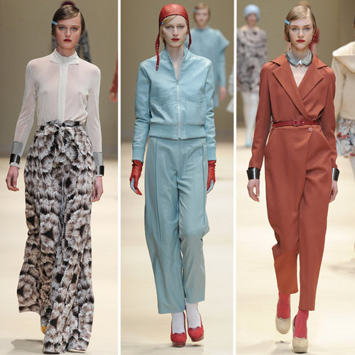 Review and Pictures of Cacharel Autumn Winter 2012 Paris Fashion Week Runway Show