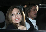 Brad Pitt and Angelina Jolie Head to His Make It Right Gala With Big Smiles