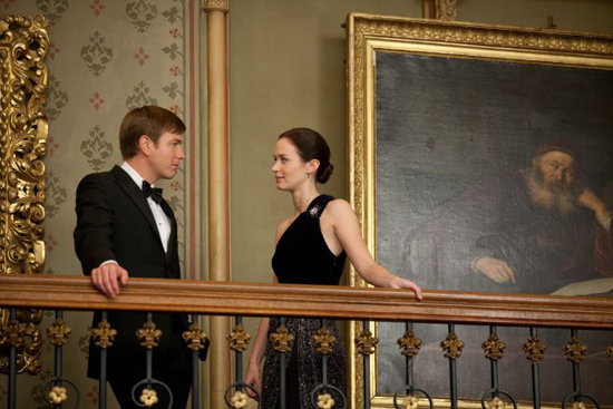 Ewan McGregor and Emily Blunt in Salmon Fishing in the Yemen. Photo courtesy of CBS Films