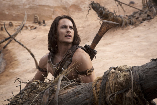 Taylor Kitsch in John Carter. Image courtesy of Walt Disney Pictures