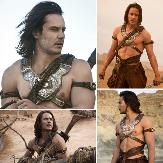 See Taylor Kitsch Looking Out of This World and Shirtless in John Carter