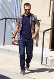 Benjamin Millepied was out in LA.