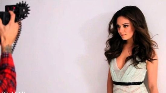 Video: See Behind the Scenes of Mila Kunis's Playful and Pretty Harper's Bazaar Shoot