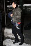 Orlando Bloom and Miranda Kerr Bring Flynn to Paris for Another Fashion Week