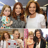 Diane von Furstenberg Celebrates the Launch of Her Gap Kids Collection With Celebrity Moms