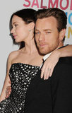 Emily Blunt and Ewan McGregor walked the red carpet together.
