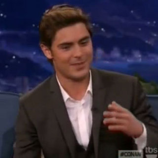 Zac Efron on Conan O'Brien Video 2012