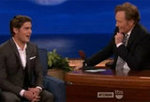 "Zac Efron Talks ""Aggressive,"" ""Over the Top"" Mom Fans on Conan"