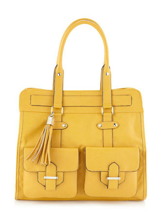 Save: R&J Handbags Avery Tassel Tote ($118, Now $65)