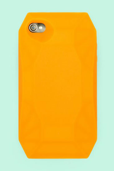 Shine bright like an Orange Diamond ($35) case for iPhone 4.