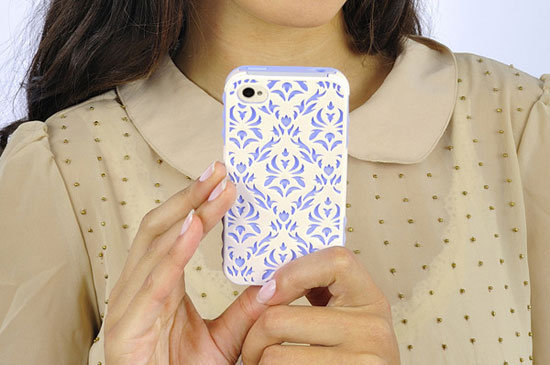 The Tech Candy Venice ($33) case for iPhone 4 has a victorian feel.
