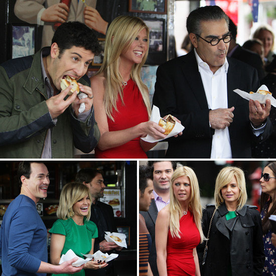 The American Pie: Reunion Gang Eat Harry's Pies on Their Aussie Press Tour