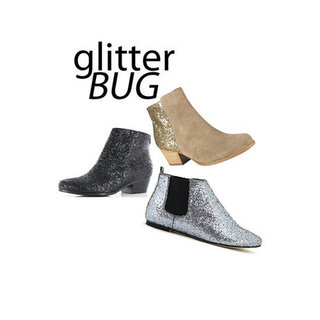 Top Five Glitter Ankle Boots to Buy Online: Shop the Shiny Shoe Trend at Wittner, Wanted Shoes, Betts, Style Tread and more!