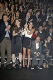 Jessica Alba cheered after Lanvin.