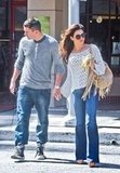 Channing Tatum and Jenna Dewan holding hands in LA.