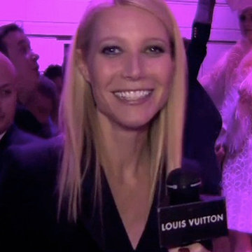 Gwyneth Paltrow Louis Vuitton Exhibition Interview With Louise Roe