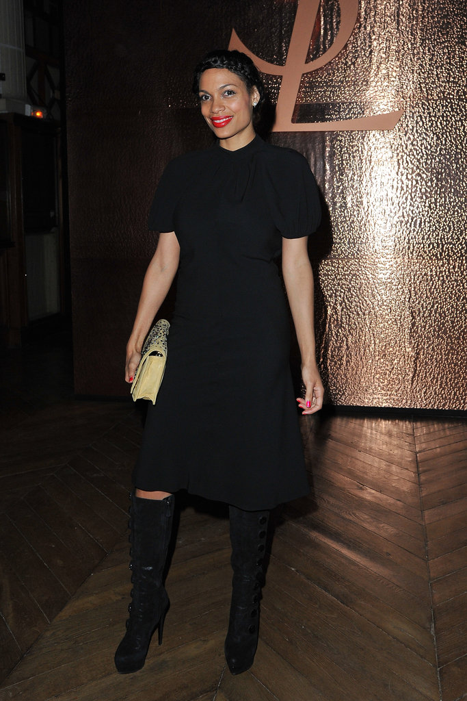 Rosario Dawson went to YSL.