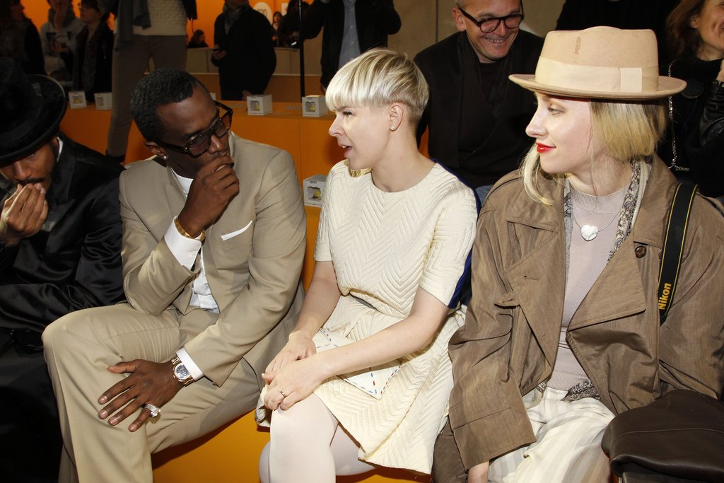 Diddy and Robyn checked out Kenzo.