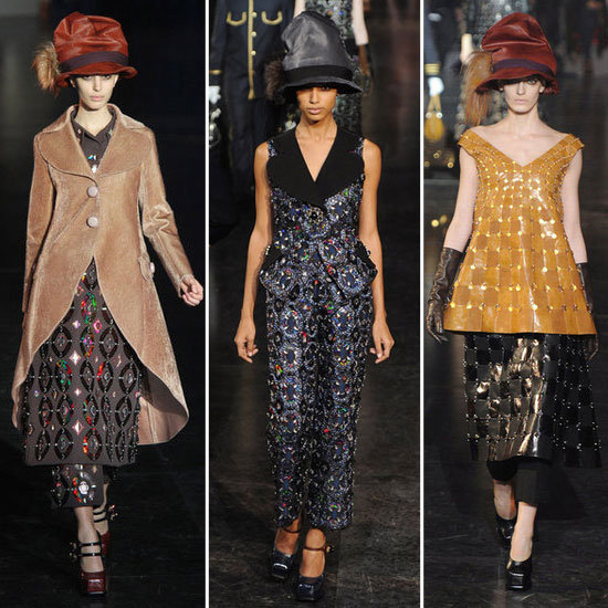 2012 A/W Paris Fashion Week: Louis Vuitton