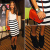 Revenge's Ashley Madekwe at Nylon Party