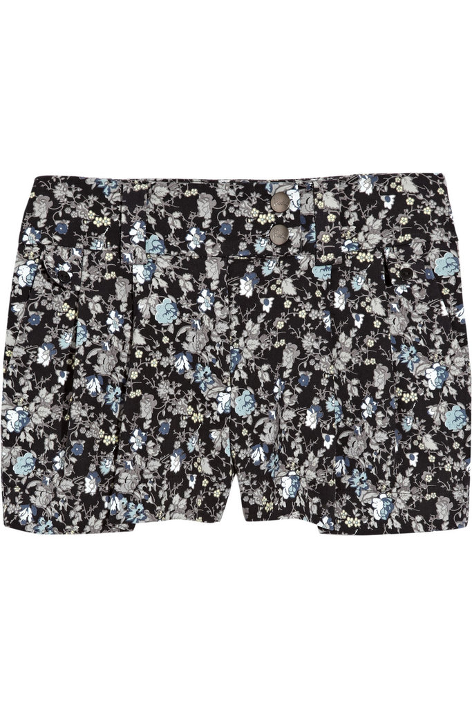 Preen Line Floral Print Stretch-Denim Shorts ($158, originally $315)
