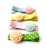 Pretty in Pastels Child Hair Clips ($5)