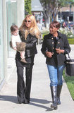 Rachel Zoe and Skyler Berman were joined on a stroll by Skyler's nanny.