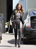 Jessica Alba out in LA.