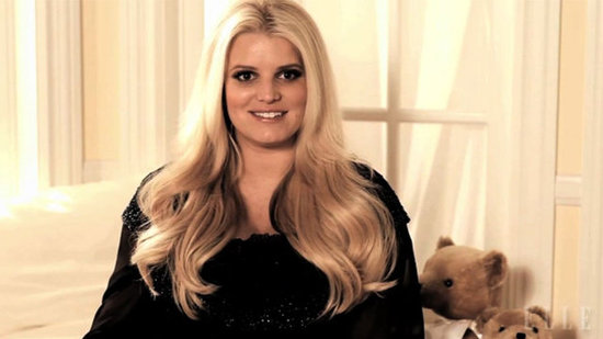 "Video: Jessica Simpson on Bikinis While Pregnant — ""I've Become a Nudist"""