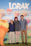 Zac Efron, Danny DeVito, and Angy in Madrid.