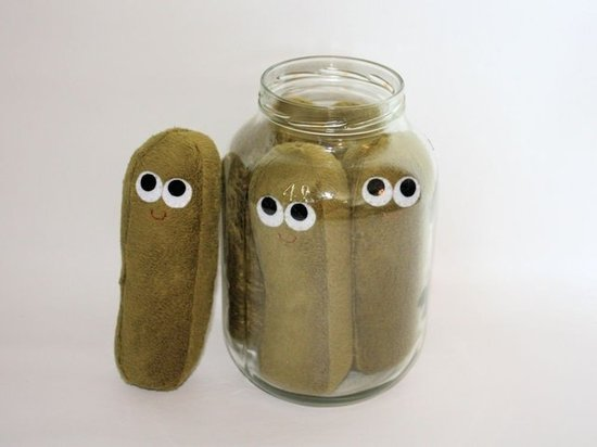 Dill Pickle-Plush Food ($16)