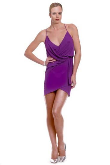 Purple Rage dress