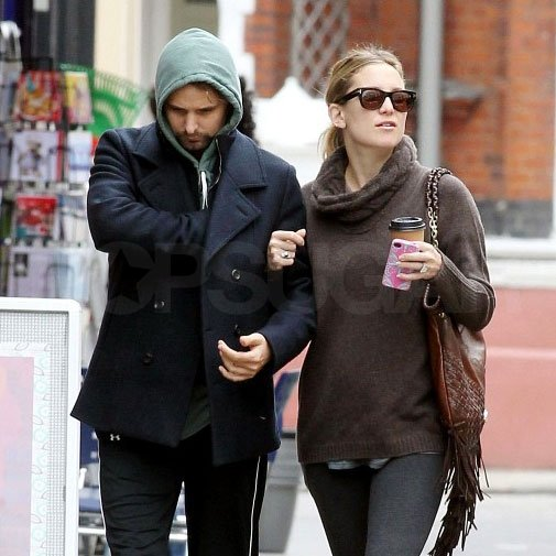 Kate Hudson and Matthew Bellamy looked cute together.