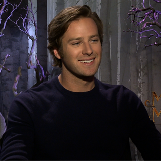 Armie Hammer on Working With Johnny Depp (Video)