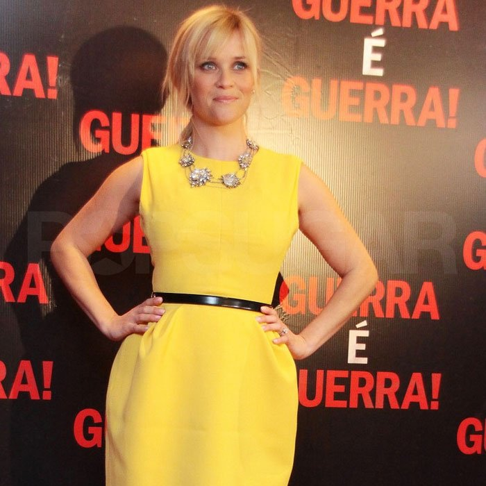 Reese Witherspoon posed in Brazil.
