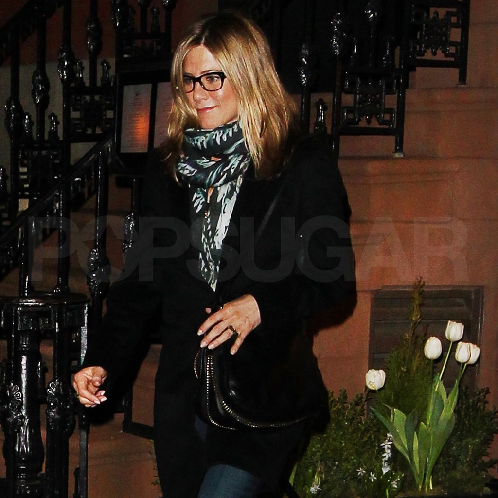 Jennifer Aniston left Blue Hill Farms.