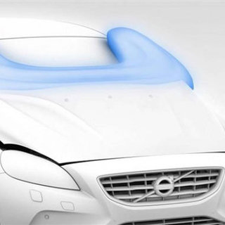 Volvo External Airbag Picture