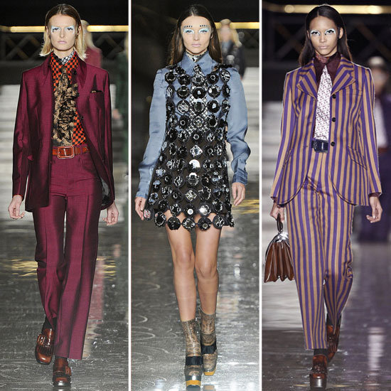 Don't miss a moment of the Paris runway show action! Click through for all of the Fall '12 looks, from Givenchy to Miu Miu, it's all here.