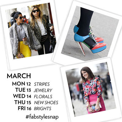 Spring Fashion Instagram Challenge 2012