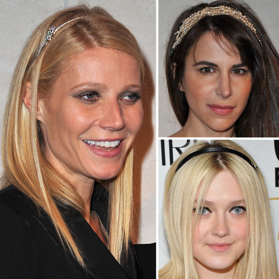 Celebrities Wearing Headbands: Gwyneth Paltrow and Dakota Fanning