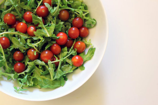 Arugula With Cherry Tomatoes