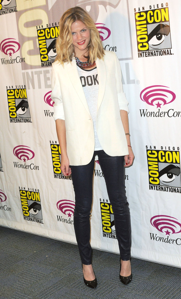 Brooklyn Decker at WonderCon.