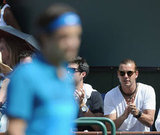 Gavin Rossdale was in Indian Wells.
