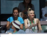 Gwen Stefani was at the BNP Paribas Open.