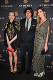 Diane Kruger celebrates the opening of a St. Regis.