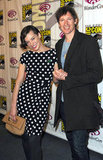 Milla Jovovich and Paul W.S. Anderson at WonderCon.